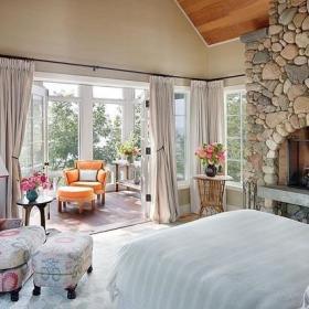 卧室窗帘设计案例