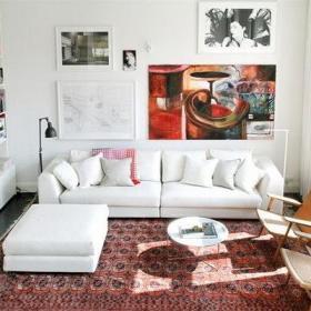 欧式北欧简约北欧风格客厅案例展示