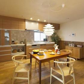 温馨浪漫厨房餐桌椅子椅设计案例展示