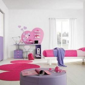 现代简约卧室儿童房衣柜柜子装修案例