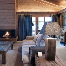 现代简约别墅木质地板设计方案