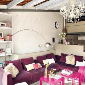 客厅沙发装修案例