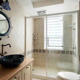 柜子洗手盆卫浴装修案例