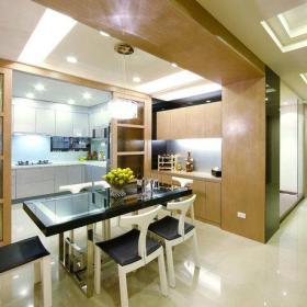 餐厅厨房餐桌射灯图片