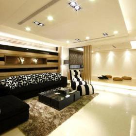 客厅沙发单人沙发装修图