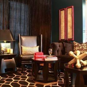优雅小资时代:咖啡色浪漫小屋