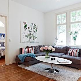 客厅卧室实木地板木地板设计方案