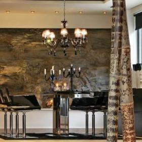 欧式精致古典时尚餐厅餐桌设计方案