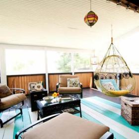 清新乐活客厅阳台沙发椅子休闲沙发椅沙发椅设计方案
