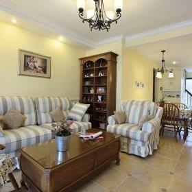 美式精致古典温馨客厅设计案例