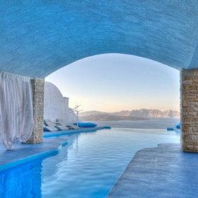 希腊酒店效果图
