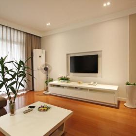 客厅植物电视柜钟表设计方案