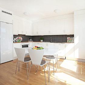 简约装修自然之美 90平公寓6万搞定