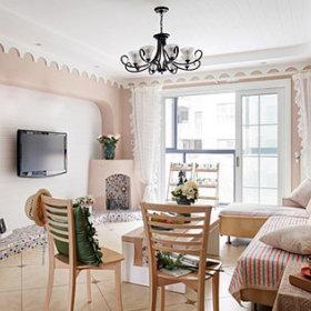 田园混搭简约沙发设计方案