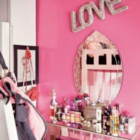 卧室梳妆台妆台椅装修图