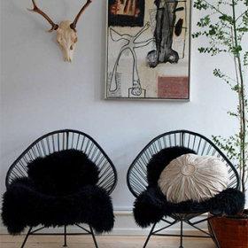 简约客厅椅子椅设计图