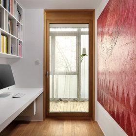 书房玻璃门设计方案