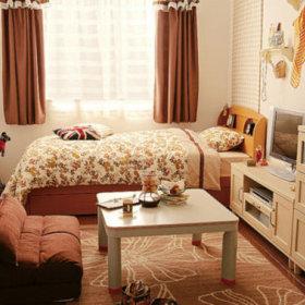 温馨单身公寓效果图