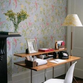 清新书房植物壁纸效果图
