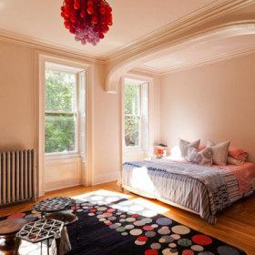 卧室休闲区图片