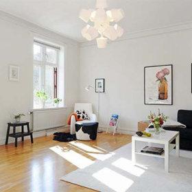 客厅沙发单人沙发装修效果展示