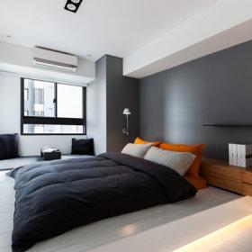 卧室床架效果图