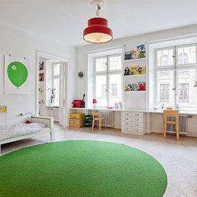 冬日为家加点色彩 80平米温馨装饰