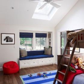 地中海地中海风格卧室儿童房装修效果展示