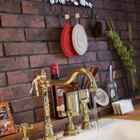 复古厨房水龙头设计案例展示
