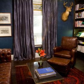书房窗帘装修效果展示