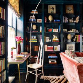 书房沙发桌子设计图