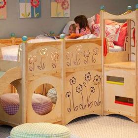 现代简约儿童房设计案例