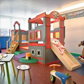 孩子们的乐园  让人眼前一亮的活动室