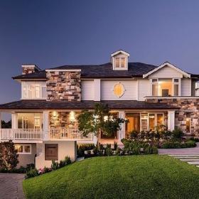 美式美式风格别墅效果图