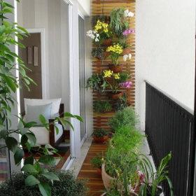 阳台植物装修案例