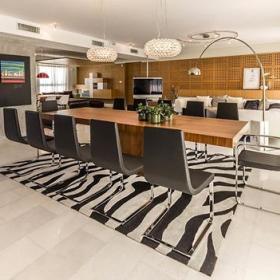 餐厅餐桌实木餐桌案例展示