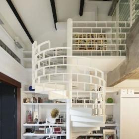 楼梯书架设计方案