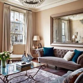 欧式时尚客厅设计案例展示