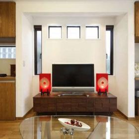 复古电视柜茶几设计案例展示