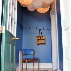 玄关椅子玄关柜椅墙面案例展示