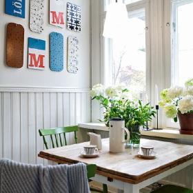 清新精致餐厅餐桌案例展示