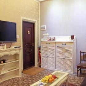 欧式玄关电视柜玄关柜效果图