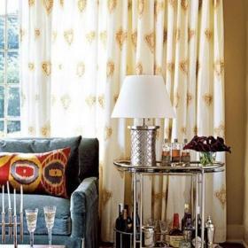 客厅吧台茶几台灯设计案例