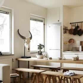 自然厨房餐桌案例展示