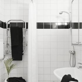 瑞典33平米原木风单身公寓