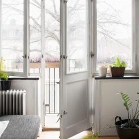 清新阳台植物设计图