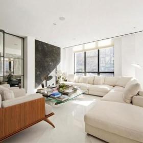 客厅沙发茶几玻璃茶几布艺沙发图片
