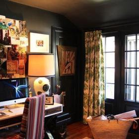 书房窗帘椅设计图