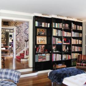 客厅书柜案例展示