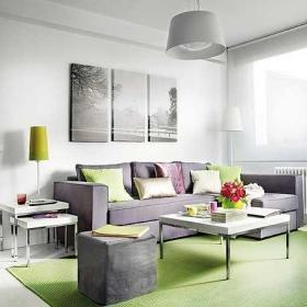 简约奢华客厅客厅家具案例展示